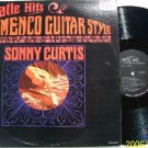 Beatles Hits Flamenco Style  Guitar  SONNY CURTIS Vintage Vinyl Record