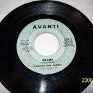 BARBARA AND BRENDA  Shame Vintage vinyl 45rpm AVANTI  1600  SOUL