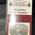 New instant expressions decorative paint transfers PARADISE 36x24