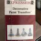 New instant expressions decorative paint transfers LIGHTHOUSE