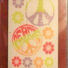 New instant expressions peace sign DECORATIVE PAINT TRANSFER wall decal 6.5x6.5 inches