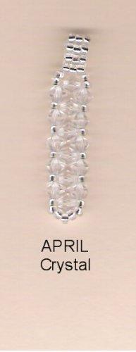 Swarvoski Crystal Birthstone Pendant - April