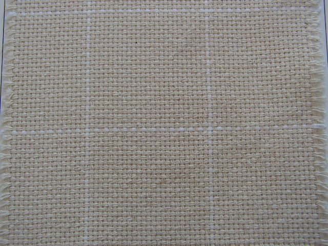 Primitive Rug Hooking - Monks Cloth 2 by 2 inch grid 60 inches wide - Shorn Sheep Wools