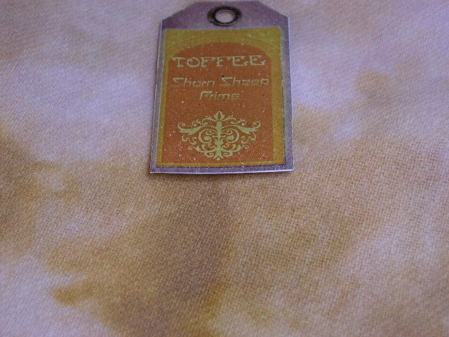Hand Dyed Rug Hooking Wool w/Lanolin~TOFFEE~Shorn Sheep~Fat Quarter~Stripped Free~FREE US SHIP