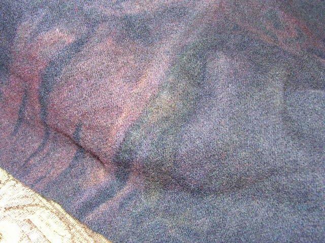 Dark Pansy Blue~Quarter Yard~Hand Dyed Wool With Lanolin~ShornSheep~Rug Hooking