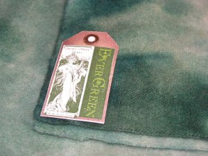EVERGREEN - Hand Dyed Lanolin Wool - Rug Hook, Quilt, Penny Rug-Shorn Sheep - Free US Ship
