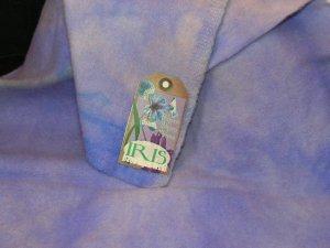 IRIS - Hand Dyed Lanolin Wool - Rug Hook, Quilt, Penny Rug - Shorn Sheep - Free US Ship - 1/4 YD
