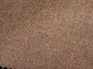 TWEED NO.5 - 100% wool fabric - SAND Tweed - off the bolt - 5 yards - Shorn Sheep Wools