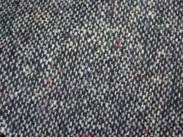 TWEED NO.8 - 85/15 wool/nylon fabric - DOTTED Tweed - off the bolt - 5 yards - Shorn Sheep Wools