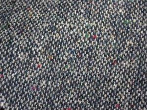 TWEED NO.8 - 85/15 wool/nylon fabric - DOTTED Tweed - off the bolt - 5 yards - Shorn Sheep Wools