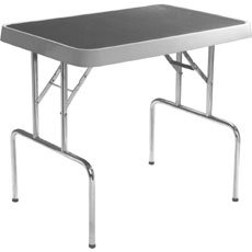 General Cage Fiberglass Grooming Table with Arm-#50029