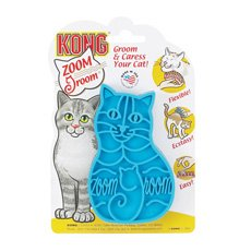 Kong Zoom Groom Rubber Pet Brush for Cats #KC227