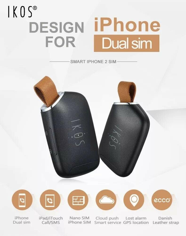 Add 2 Sim with ur Iphone + Record voice calls - ikos