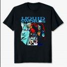 Genius GZA Liquid Swords Rapper Unisex Black T-Shirt Rapper Tee