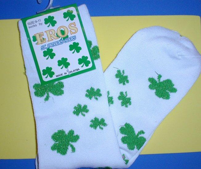 Saint Patrick's Day Socks, Women's size 9-11