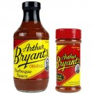 Arthur Bryant's Original Barbeque Sauce And Meat Rib Dry Rub Pack