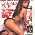BlackMen Magazine (CyberSex Issue '07): Tila Tequila