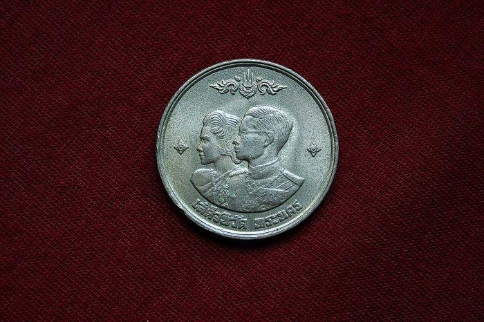 Commemorative coin-King IX return Bangkok Thailand 1961