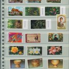 Thailand 8 Different MNH Complete Sets 2001-2002/19pcs