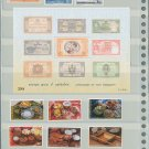 Thailand 5 Different MNH Complete Sets 2002/12pcs