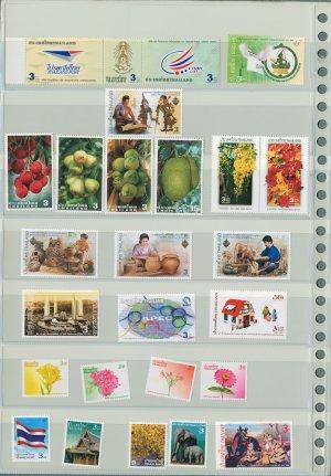 Thailand 13 Different MNH Complete Sets 2003/26pcs