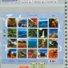 Thailand 6 Different MNH Complete Sets/UNSEEN THAILAND 2004 SHEET/31pcs