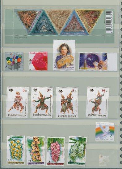 Thailand 7 Different MNH Complete Sets 2005/18pcs