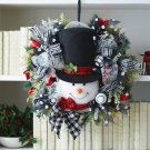 Snowman Wreath Decor