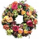 Hydrangea Rose Wreath