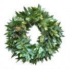 "20"" Fresh Bay Leaf, Eucalyptus And Rosemary Wreaths"