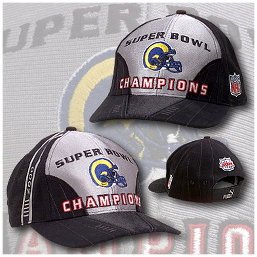 ST. LOUIS 1999 RAMS 2000 SUPER BOWL CHAMPS CAP HAT NEW