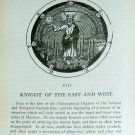 1905 Morals Dogma of Freemasonry Supercool