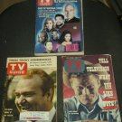 Vintage TV Guide LOT Star Trek Connors Skelton