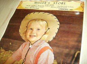 Vintage Advertising Calendar LOT
