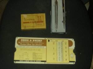 Vintage Art Deco Mech Drafting Instruments Tools Pens Lot