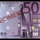 500 EURO SPECIMEN BANKNOTE - UNCIRKULATED