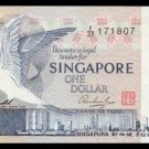SINGAPORE - 1 DOLLAR 1976 - Pick 9 - UNCIRKULATED
