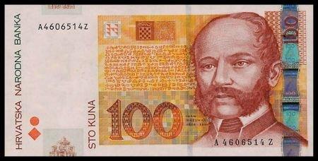 CROATIA - 100 KUNA 2001, Pick 41, UNCIRKULATED