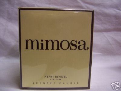 HENRI BENDEL CANDLE MIMOSA Retired Scent Bath & Body Works scented - burns 60 hours!