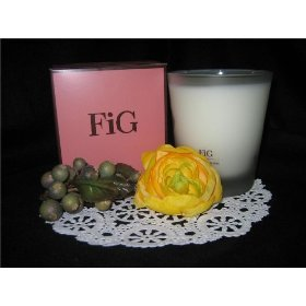 HENRI BENDEL Candle FIG *RETIRED scented Bath & Body Works - burns 60 hour