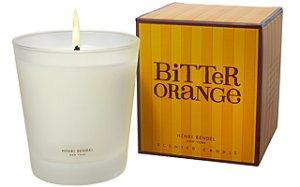 HENRI BENDEL Candle BITTER ORANGE scented Bath & Body Works - burns 60 hour
