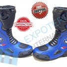 BMW Top Quality Motorcycle Boots Genuine Leather Motorbike Racing Shoes