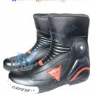 Dainese Top Quality Motorcycle Boots Genuine Leather Motorbike Racing Shoes