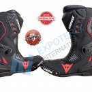 Famous Dainese Top Quality Motorcycle Boots Genuine Leather Motorbike Racing Shoes