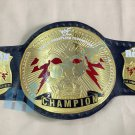 WWF World Championship Belt With The Rock Both Side Badging (Replica)