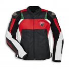 Ducati Men Motorcycle Street Racing Motorbike CE Armour Leather Sports Jacket