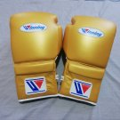 Winning Boxing gloves Lace up 14oz Golden