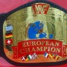 WWF EUROPEAN WORLD WRESTLING FEDERATION CHAMPIONSHIP BELT 2MM BRASS