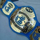 WCW World heavyweight Wrestling Championship belt , Dual plated,4mm Zinc