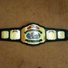 WCW TBS World TELEVISION Wrestling Championship Belt.Adult Size.